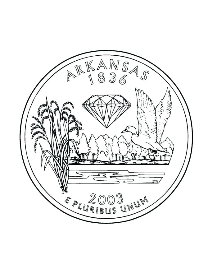 670x820 Arkansas Coloring Pages Coloring Pages Click To See Printable