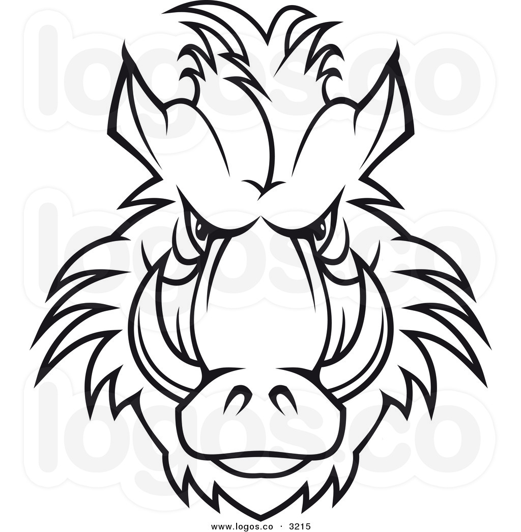1024x1044 Boar Clipart Angry