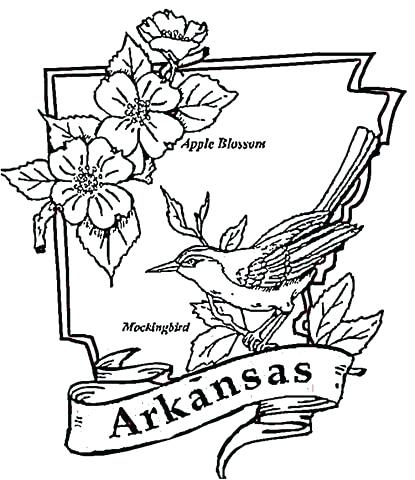 415x480 Arkansas Coloring Pages Click To See Printable Version Of Coloring