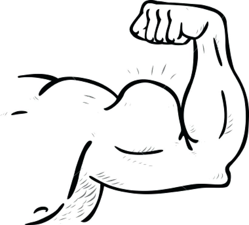 820x742 Muscle Coloring Pages Muscle Arm Muscle Arm Clip Art Clip Art