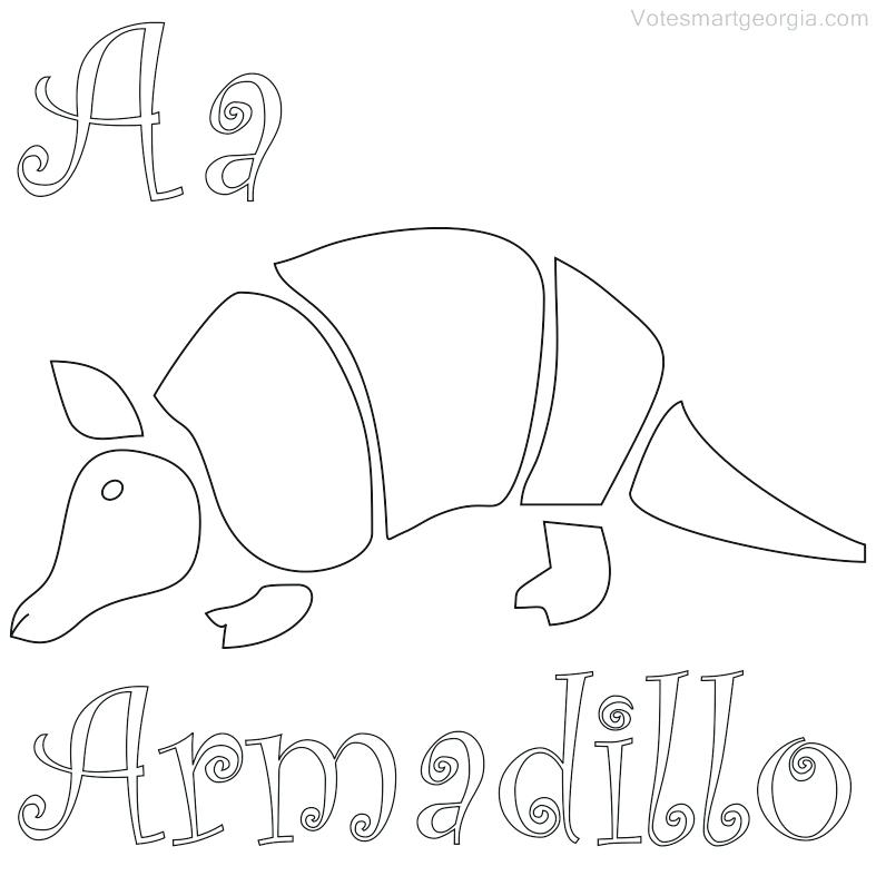 Armadillo Coloring Page At Getdrawings Com Free For Personal Use
