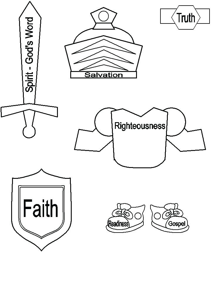 718x957 Armor Of God Coloring Pages