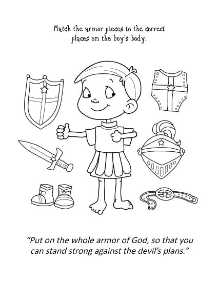 425x550 Armor Of God Coloring Page Armor God Coloring Pages Armor God