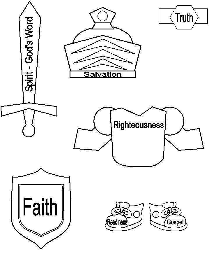 718x957 Armor Of God Helmet Colouring Pages