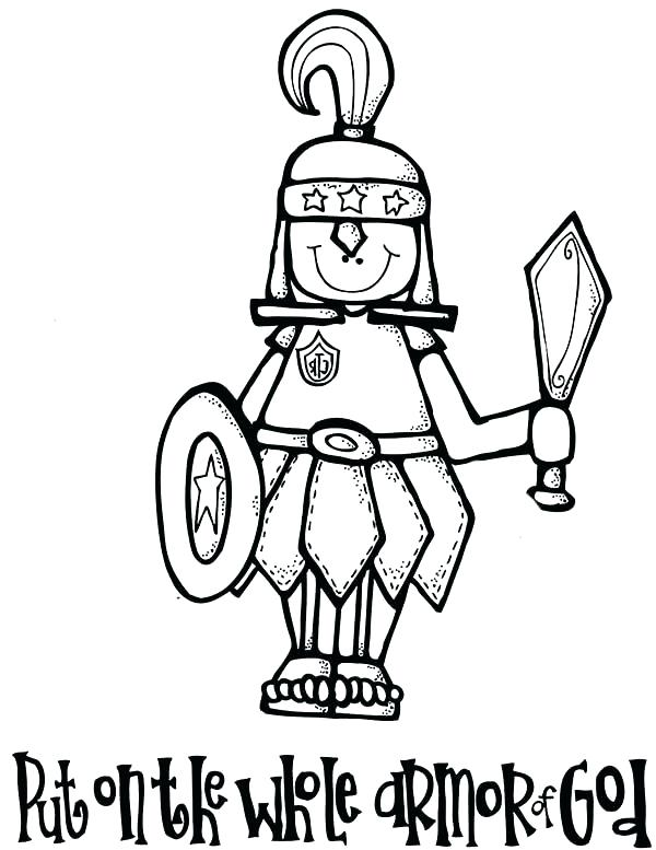 600x777 Armor God Coloring Pages Armor God Coloring Pages Armor