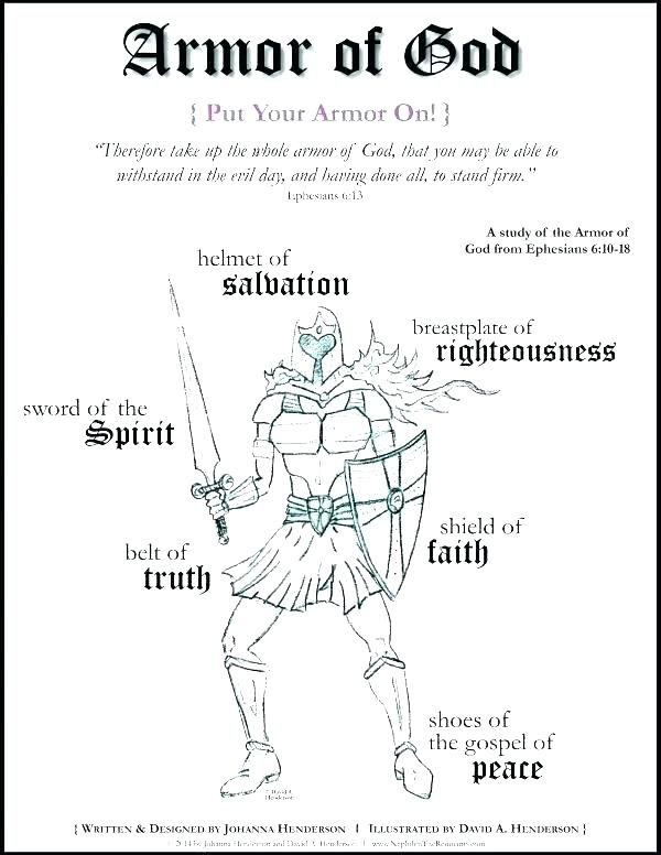 600x776 Armor Of God For Kids Coloring Pages Armor Of God Coloring Page