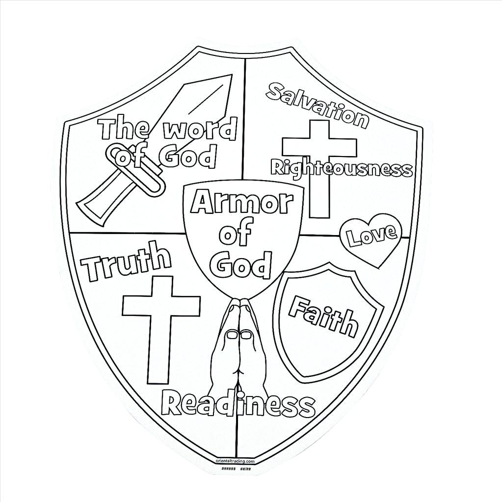 Armour Of God Coloring Page at GetDrawings.com | Free for ...