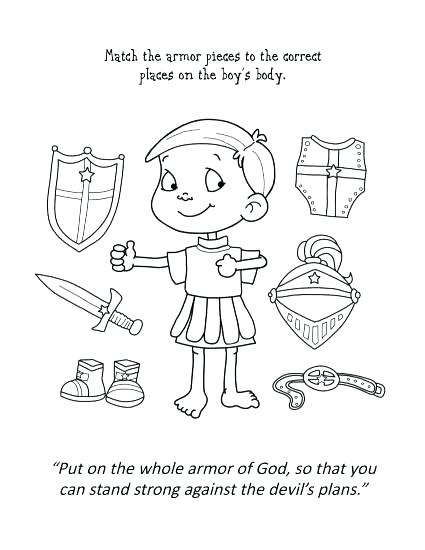 425x550 Armor God Coloring Pages Armor God Coloring Pages Armor