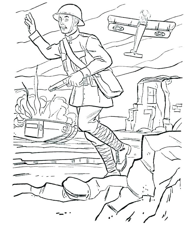653x800 Coloring Pages Of Army Soldiers Coloring Pages Army Military Free