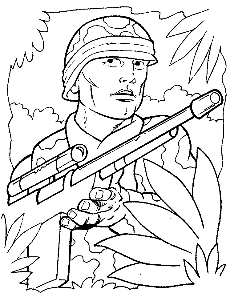 760x965 Free Printable Army Coloring Pages For Kids