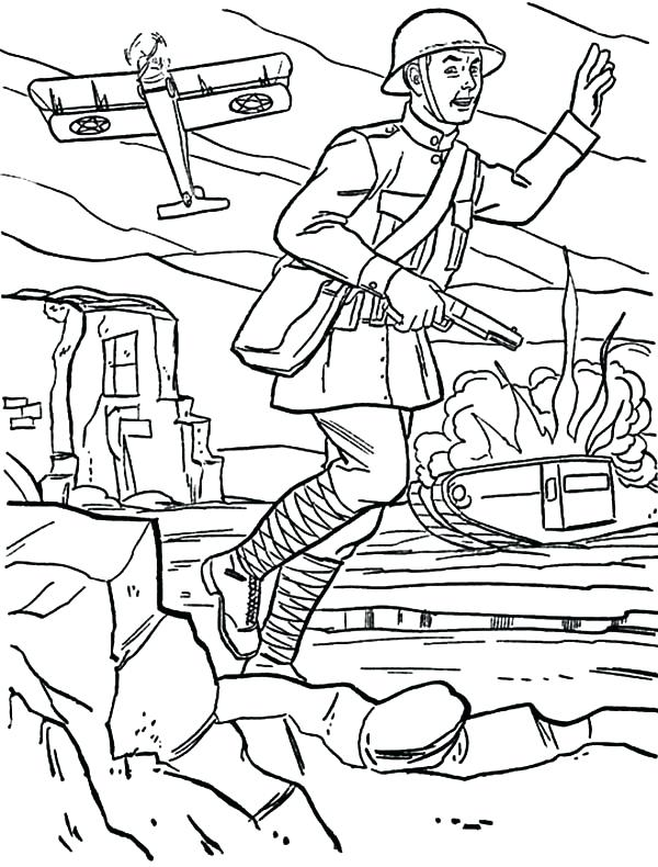 600x790 Printable Army Coloring Pages Coloring Me Army Coloring Sheets