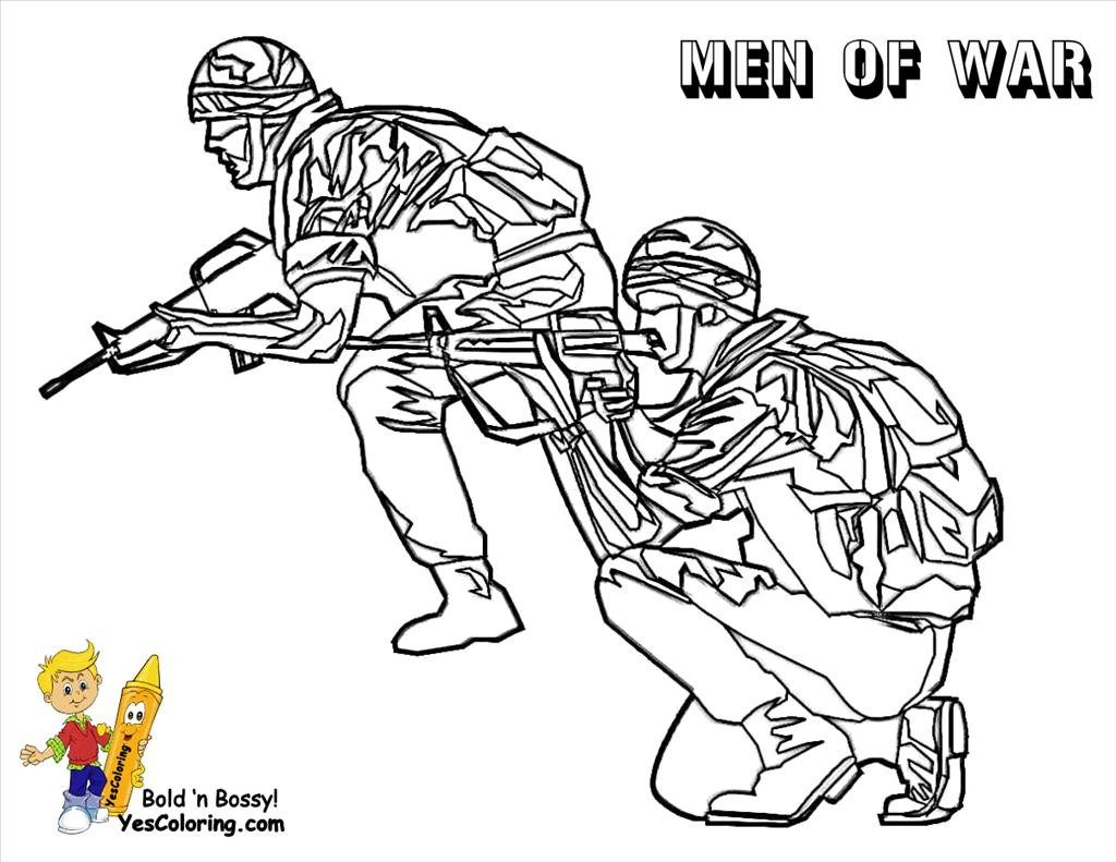 1024x791 Army Coloring Pages