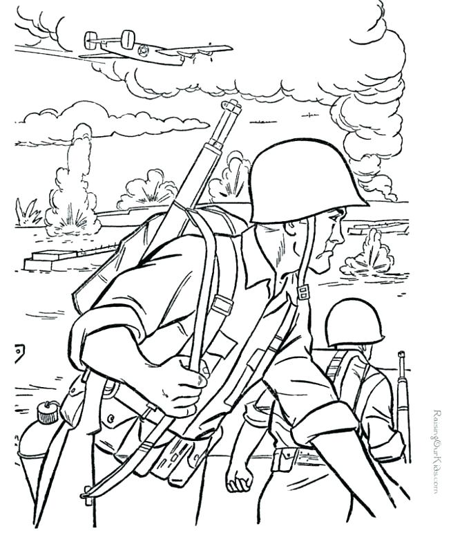653x800 Veteranos Para Colorear Color Para Para Para Army Coloring Sheets
