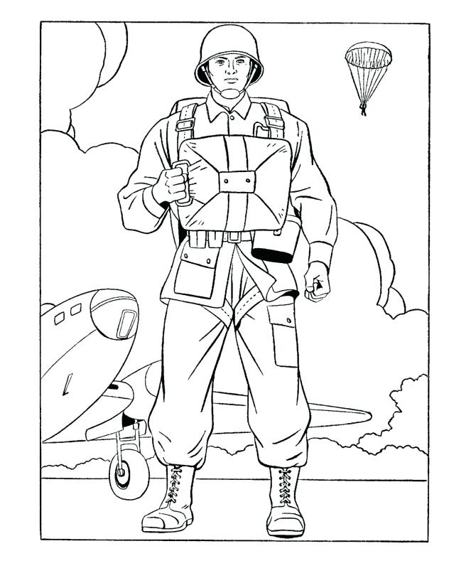 670x820 Army Coloring Page For Kids Army Coloring Pages Printable Coloring