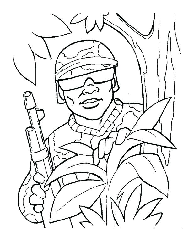 618x763 Coloring Pages Of Army Soldiers Army Coloring Pages Printable