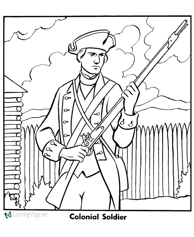670x820 Army Coloring Pages