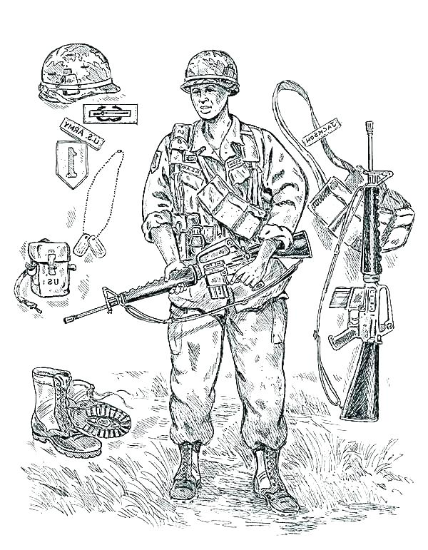 600x771 Soldier Coloring Pages Army Soldier Coloring Pages Coloring Pages
