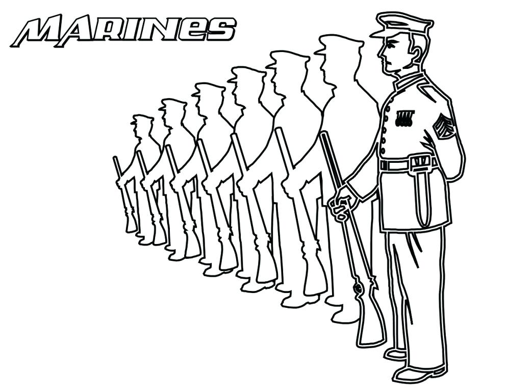 994x768 Soldier Coloring Pages Soldier Coloring Page Pages Is Training
