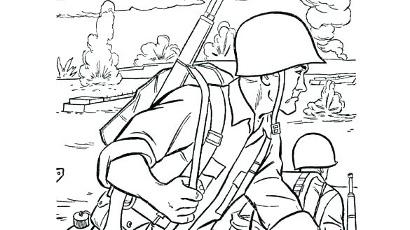 585x329 Army Guy Coloring Pages Army Guy Coloring Pages Army Holding
