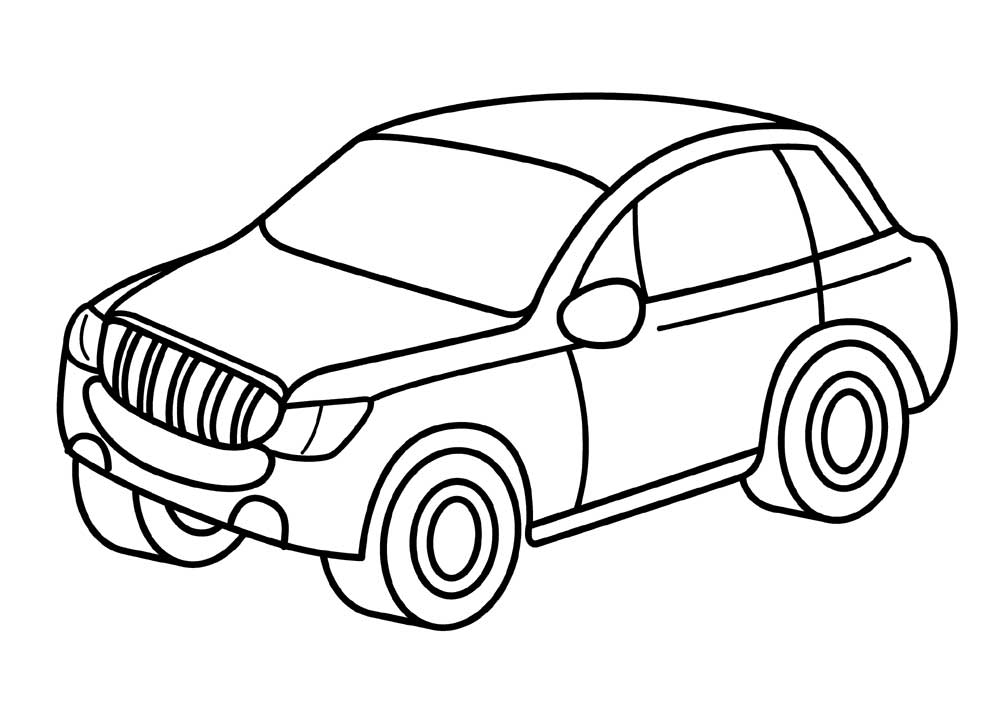 1000x713 Free Jeep Coloring Pages To Print