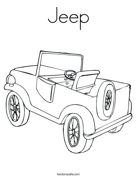 468x605 Jeep Coloring Page Jeep Coloring Page Jeep Wrangler Coloring