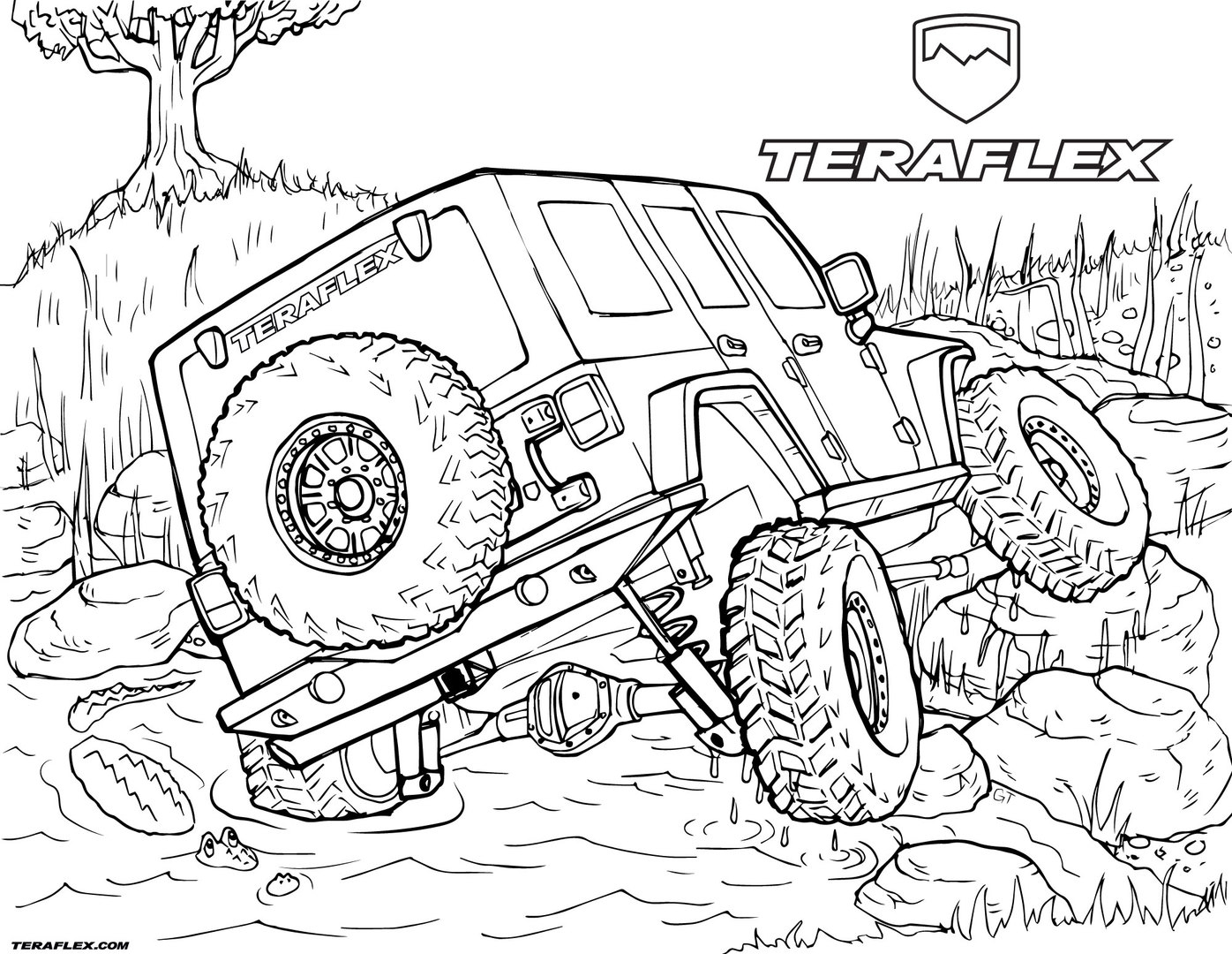 1396x1080 Jeep Coloring Pages Printable Free Coloring Pages