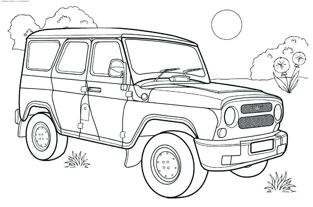 1000x661 Jeep Coloring Pages Jeep Coloring Pages Safari Jeep Coloring Pages