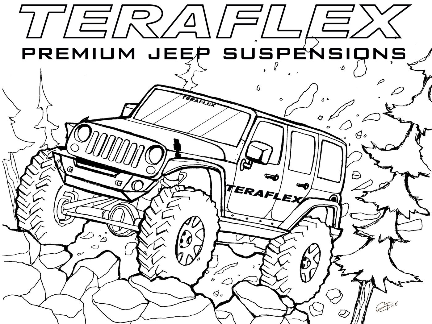 1399x1050 Jeep Coloring Pages With Wallpapers Mobilermy Colouring Safari