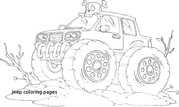 600x361 Jeep Coloring Pages