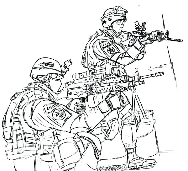 600x545 Army Guy Coloring Pages Epic Military Coloring Pages For Your