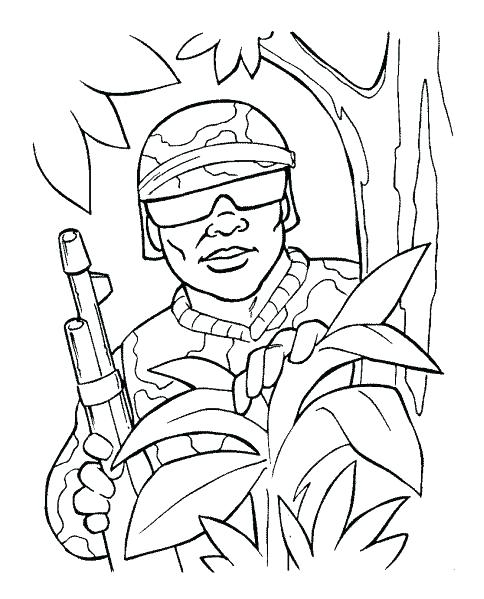 484x599 Army Guy Coloring Sheets Pages Men Man Free For Adult Printable