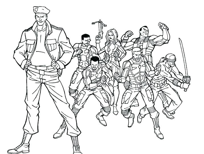 716x542 Coloring For Kidsnet Army Man Coloring Page Fine Picture Army Men