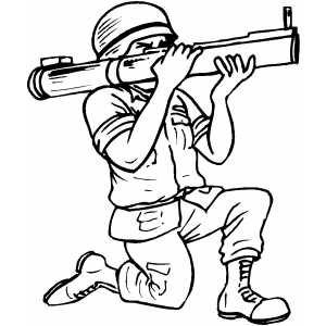 300x300 Army Coloring Pages For Boys