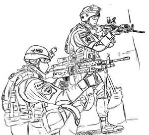 300x272 Army Guy Coloring Pages