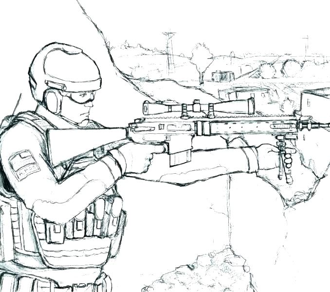 678x600 Army Guy Coloring Pages Army Men Coloring Page Army Guy Coloring