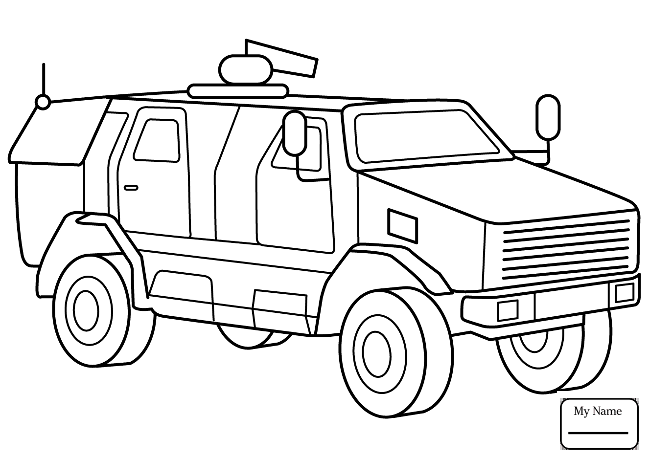 1326x937 Army Vehicles Coloring Pages
