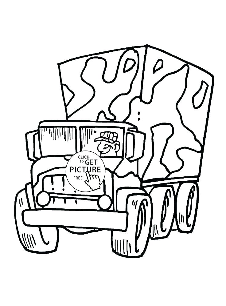 736x994 Coloring Pages Army Army Truck Coloring Pages Army Coloring Pages