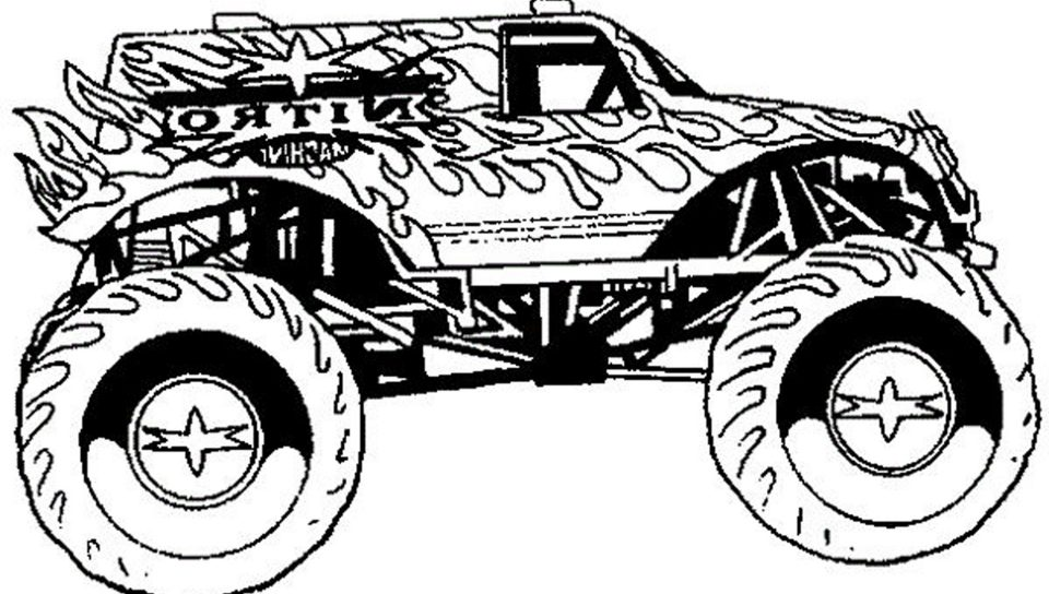 960x544 How To Draw Army Truck Vehicles Coloring Pages For Adults Free