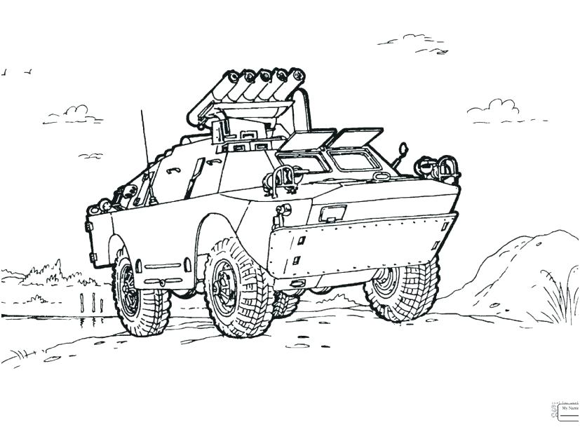827x609 Military Coloring Pages Pdf