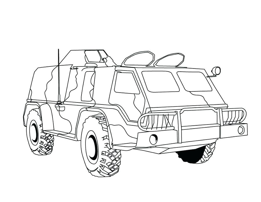 army vehicle coloring pages 22