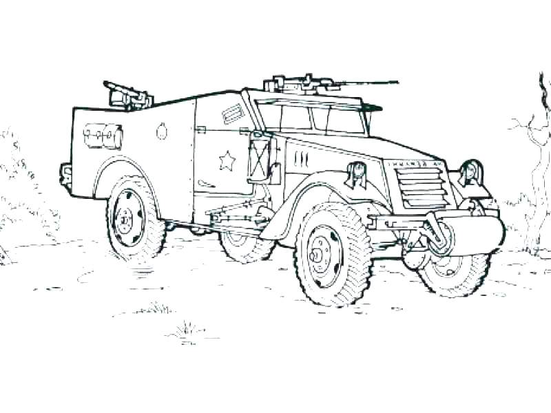 army vehicle coloring pages 23
