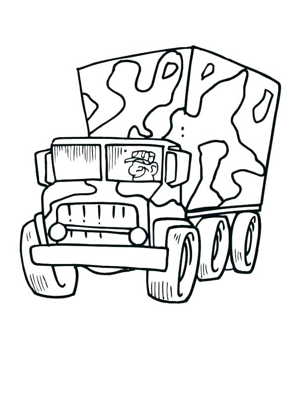 618x799 Army Truck Coloring Pages Yongtjun