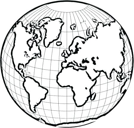 450x430 Coloring Pages Of The World Around The World Coloring Pages