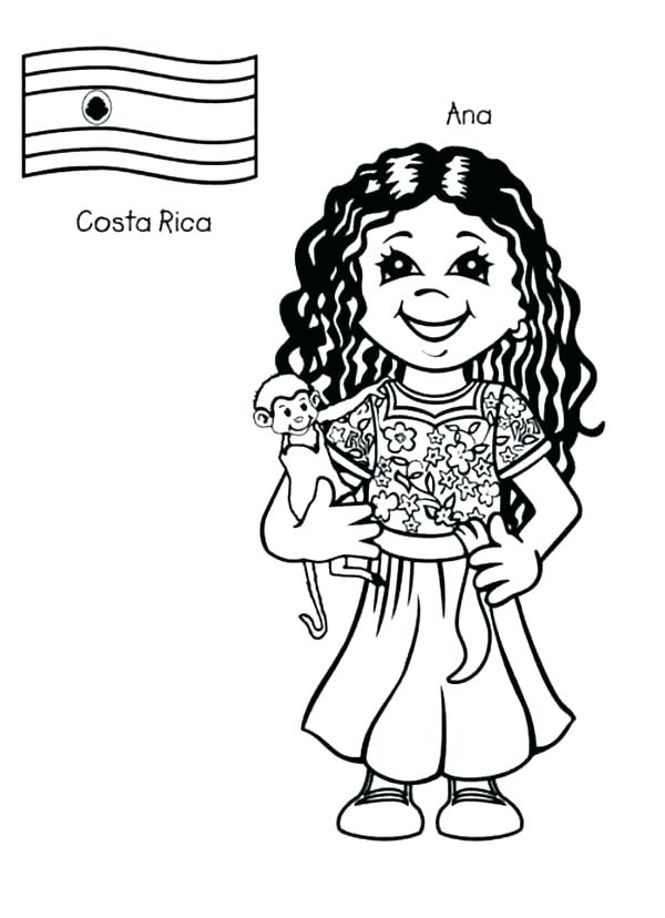 600x828 World Coloring Page World Coloring Pages Children Around The World