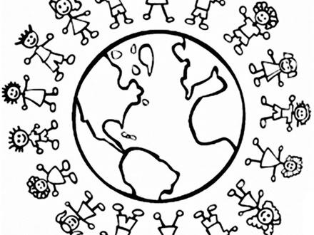 440x330 Children Around The World Coloring Page, Lachlan Irish Kid