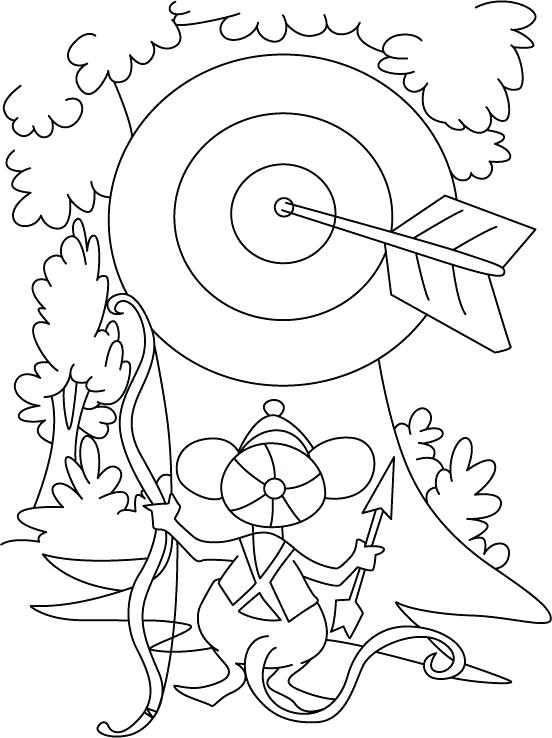 552x738 Coloring Pages Bow And Arrow Coloring Pages Home Improvement Bow