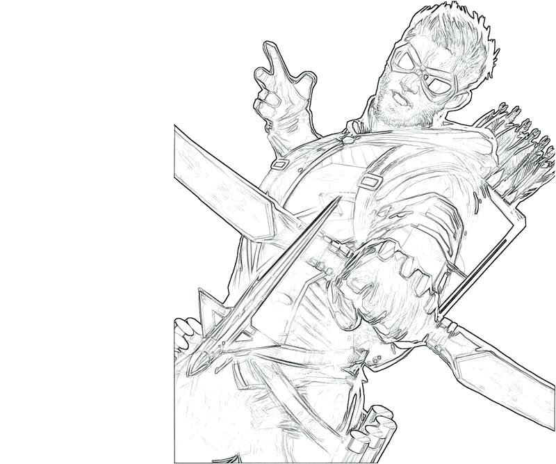 800x667 Green Arrow Coloring Pages Get Bubbles