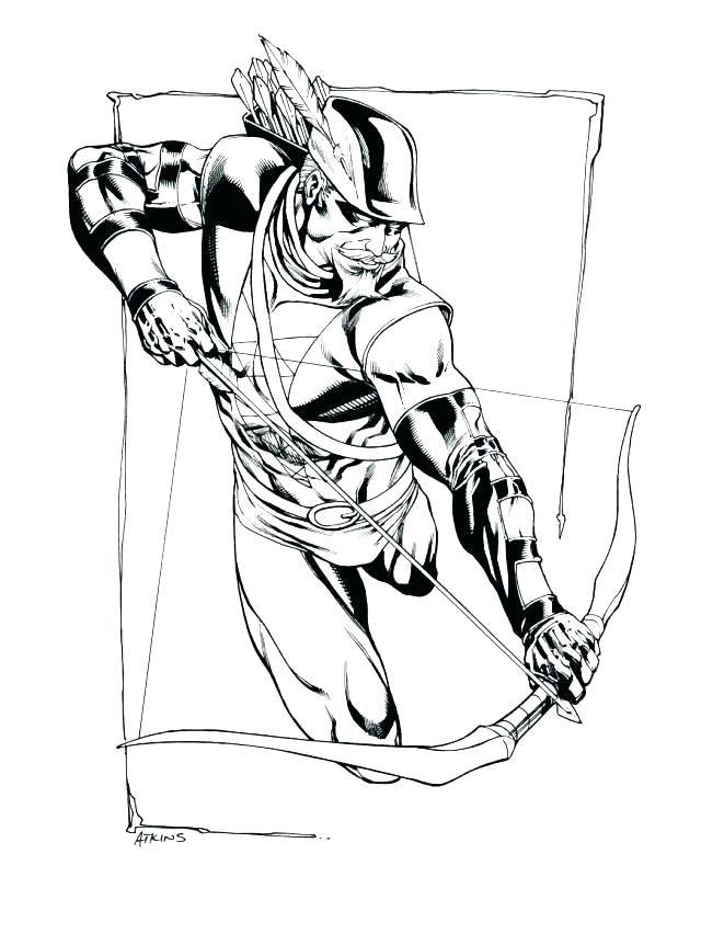640x852 Green Arrow Coloring Pages Complete Green Arrow Coloring Pages New