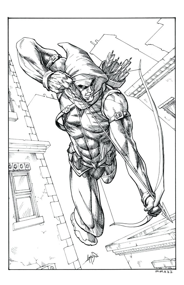 719x1111 Coloring Page Green Arrow Coloring Pages Inks