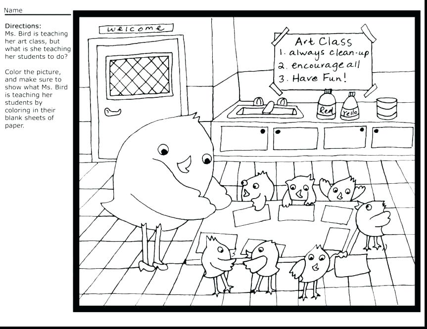 863x666 Coloring Pages For Teachers